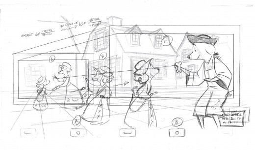 This Is The Layout For Scene 17 Done By James Lopez