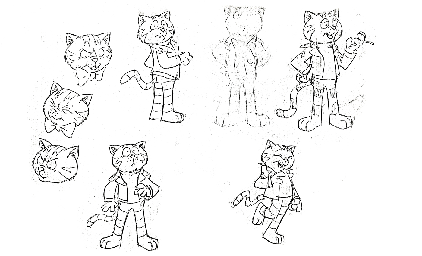 Fritz the Cat printable coloring pages