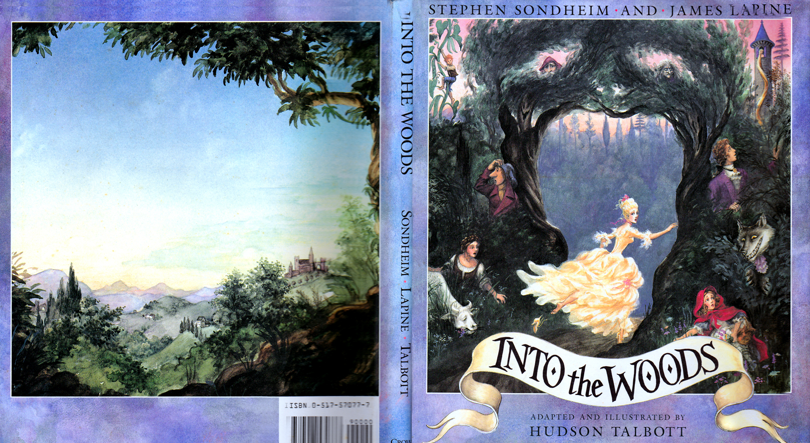 Into Woods ChildBook cover